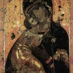 Mother of God of Vladimir, a 12th century icon
