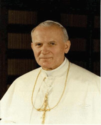 His Holiness, Pope St John Paul II