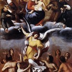 An Angel Frees the Souls of Purgatory - Ludovico Carracci
