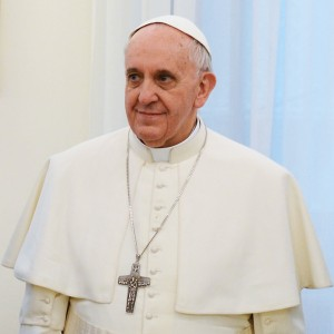 Pope Francis on March 13 2013