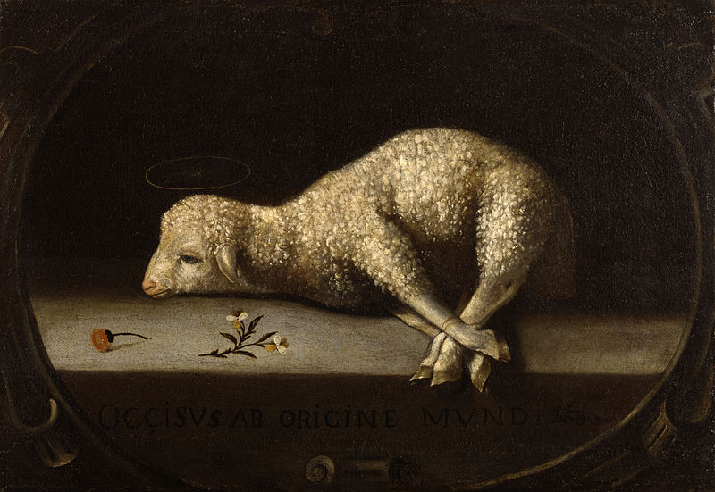 The Sacrificial Lamb - Josefa de Ayala, ca 1670