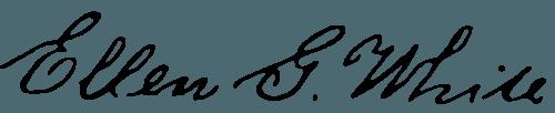 Ellen White's signature