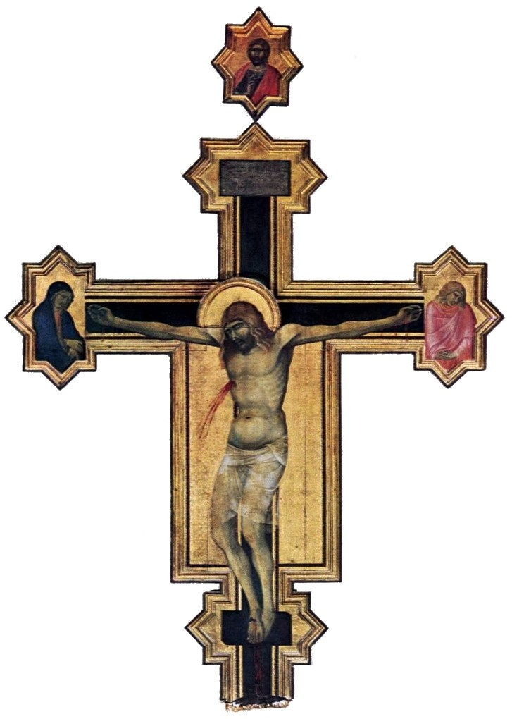 Crucifix with the Virgin and St John