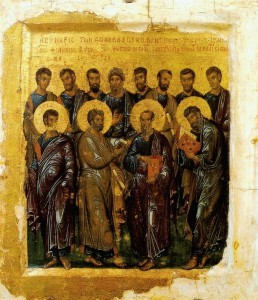 The Synaxis of the holy and the most praiseworthy Twelve Apostles