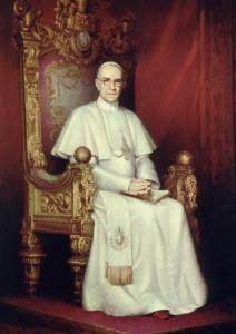 His Holiness, Pope Pius XII
