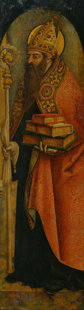 St Augustine of Hippo, by Carlo Crivelli