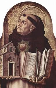 St Thomas Aquinas, by Carlo Crivelli