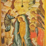 Baptism of Jesus - Orthodox icon
