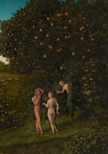 The Fall of Man, by Lucas Cranach the Elder, 1530 AD