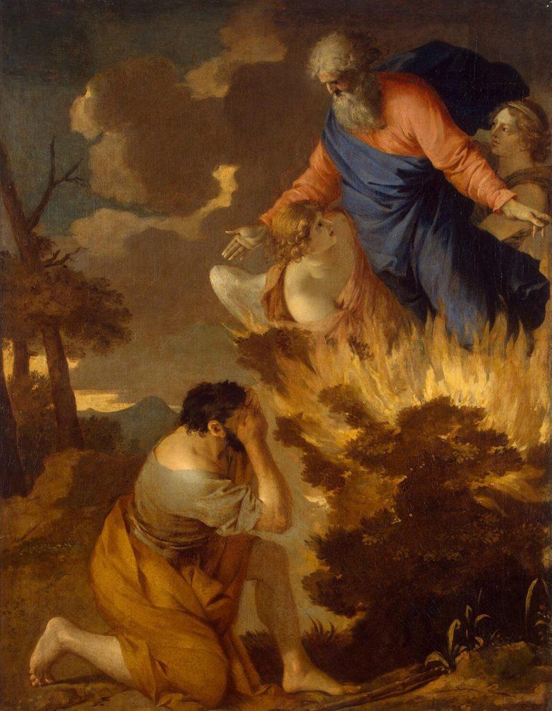 Burning bush, by Sébastien Bourdon