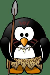 Neanderthal penguin