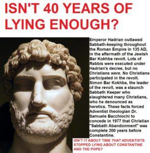 40 years of lying