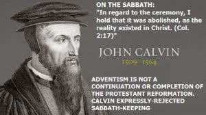 Calvin and the sabbath