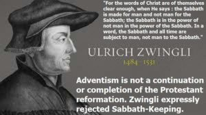 Zwingli and the sabbath