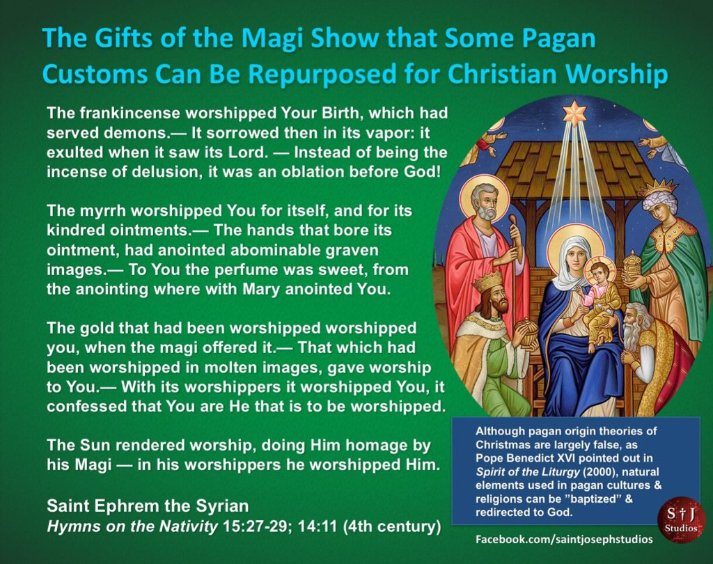 The Magi were pagan