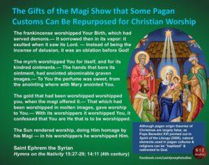 The Magi were pagan
