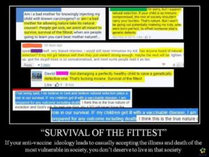 Vaccines and survival of the fittest