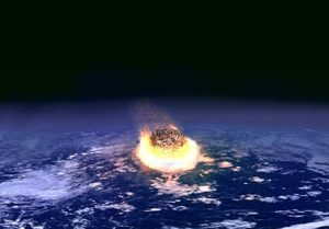 Asteroid impact event