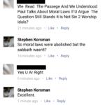 Some sabbath silliness