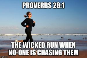 The wicked run ...