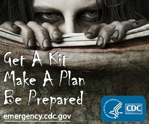 CDC - Zombies Preparedness kit