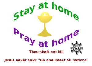 Stay at home, Pray at home