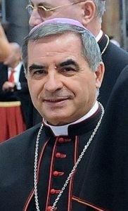 Cardinal Becciu in 2013