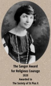 Sanger Award for Religious Courage