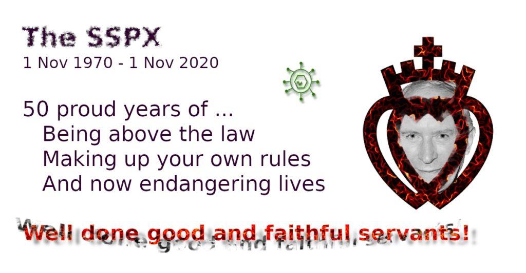 SSPX - 50 years anniversary