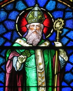 Saint Patrick - stained glass