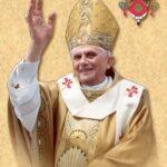 Samuele Bacchiocchi and HH Pope Benedict XVI
