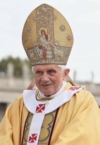 Pope Benedict XVI in 2010