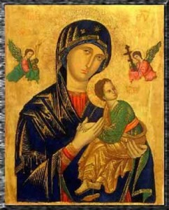 The Theotokos, Our Lady of Perpetual Help
