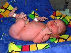 Picture of a random baby off WikiMedia Commons
