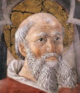 St Ambrose by Giovanni di Piamonte, ca 1456