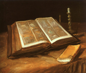 Still life with Bible, Vincent van Gogh