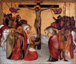 Jacobello Alberegno, Crucifixion, 1375-1397