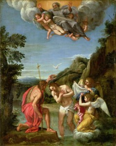 Baptism of Christ - Francesco Albani