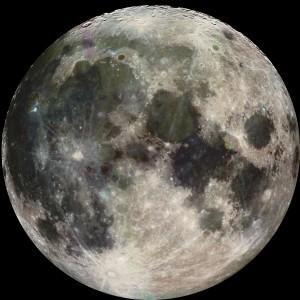 Full moon, NASA