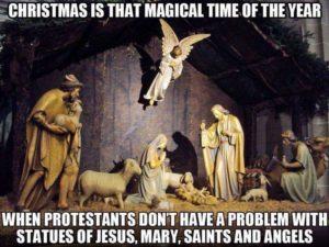 Protestant idolatry