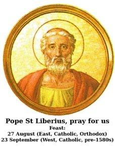 Pope St Liberius
