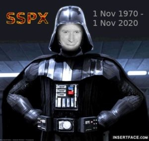 SSPX - Darth Vader Lefebvre